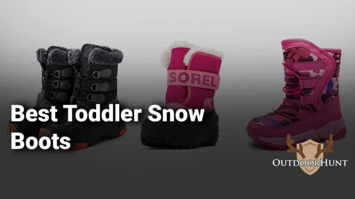 Best snow boots for toddler