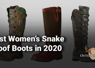 Best Women's Snake Proof Boots