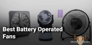 camping fans battery operated